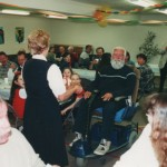 70th birthday party, 2002