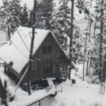 A Frame in snow, Sitka 1969