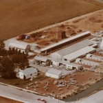 Aerial of Dairy in Nampa, 1977