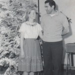 Charlie and Joan Christmas in Aberdeen, 1964