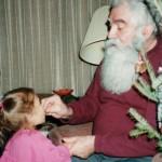 Feeding Olivia, Dec, 1997
