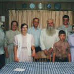 With Bear family, Sept, 1999