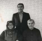 With Elizabeth and Nagymama, 1979