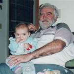With Olivia, Dec 1995