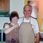 With Joan, Soldotna Bible Church, 10-7-88