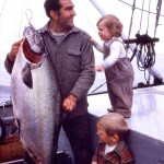 Charlie & kids with Fish