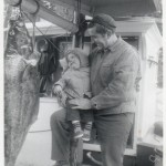 With Mark with Halibut, 1967