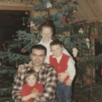 Family Christmas, 1969, AFrame in Sitka
