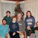 Family, Christmas 1993