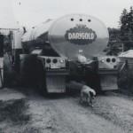 Darigold truck in Salkum, 1975