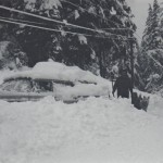 Digging car out of snow, Sitka, Jan