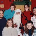 Fam at Nordstrom's, Dec 1993