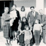 Family in Hungary, Mar, 1967