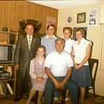 Family with Sanyi, 1982