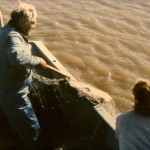 Fishing with Anna on Yukon in '89