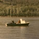 Anna Fishing with Daddy on Yukon '89 (Yukon boat '89-'92)