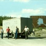 Moving back to Alaska, 1983