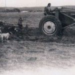 On Tractor, Anna, Lydia, dogs, 1975, Salkum