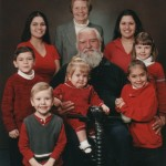 Portrait with Grandchildren, Dec 2002