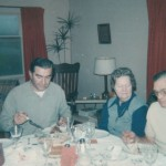 Thanksgiving Dinner, Salkum, 1975