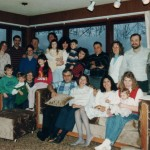 Thanksgiving w/Church family, Anchorage 1986